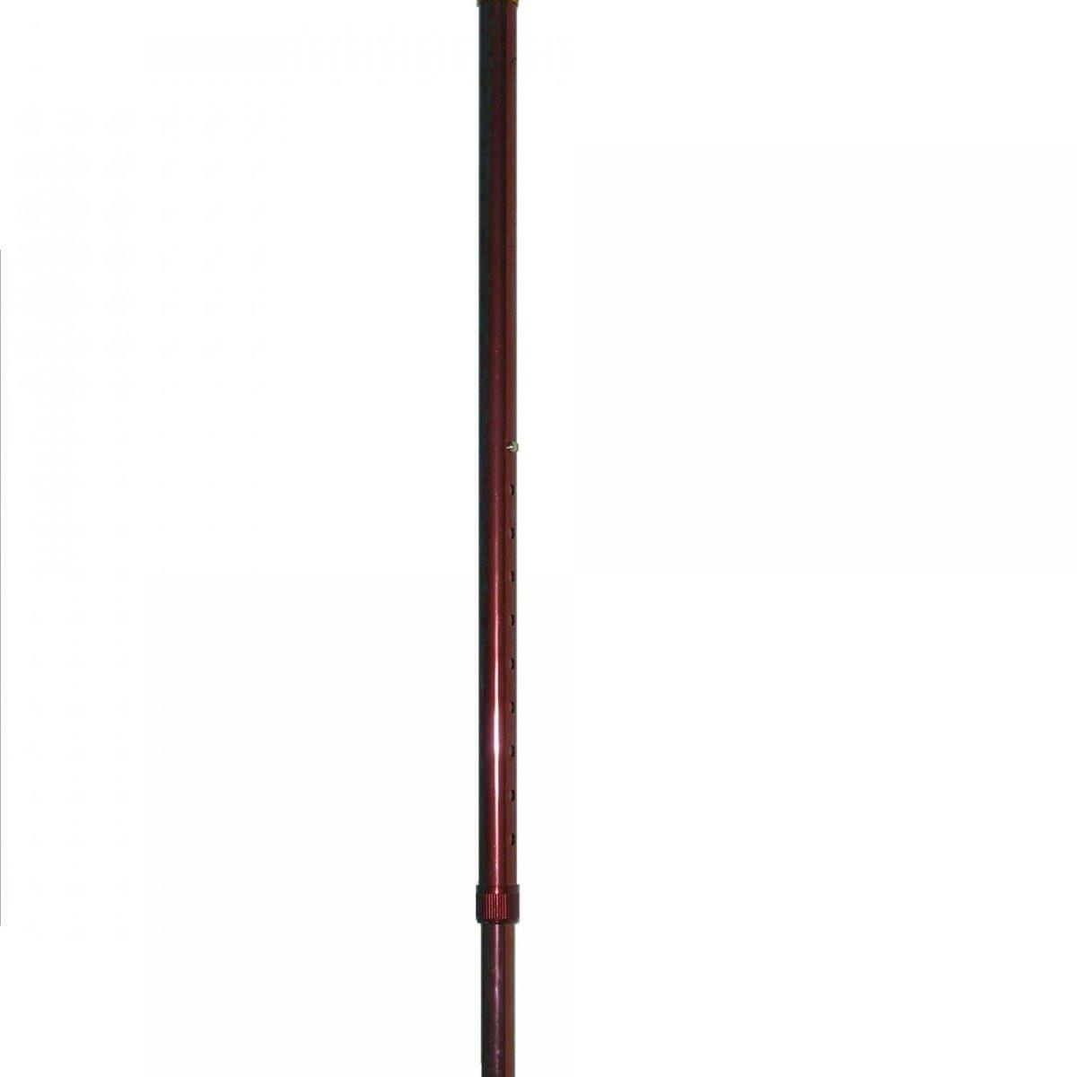 Baston reglabil din alumiuniu M4341/01 R-Ruginiu