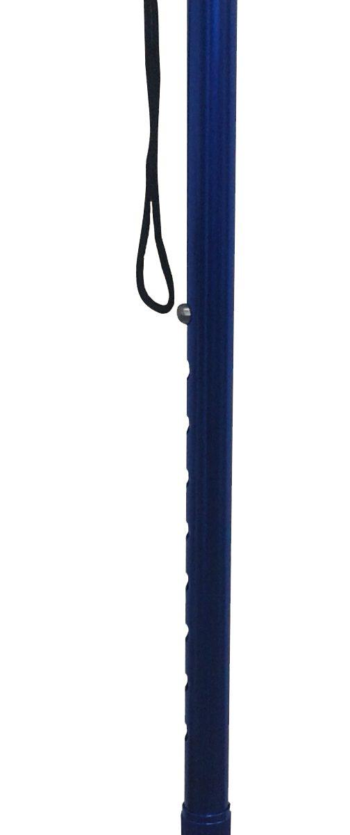 Baston reglabil din alumiuniu M4341/01 R- Albastru