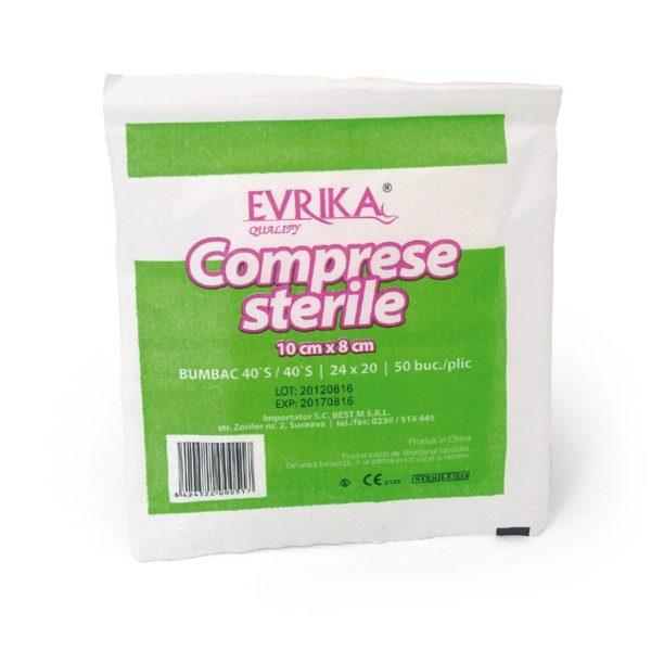 Comprese sterile Premium 10cm*8cm